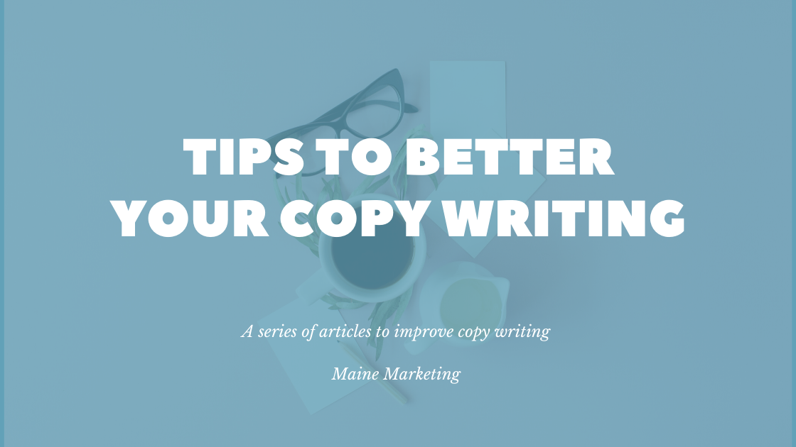 header image to improve your copy writing tips